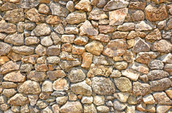 Wonderful pattern of stone wall Royalty Free Stock Image