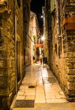 Amazing place in the old town in Split, Croatia. Wonderful place in Croatia, such an amazing landscape! Amazing place in the old town in Split, Croatia Royalty Free Stock Image