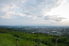 Wonderful place and nature in Hatyai Royalty Free Stock Image