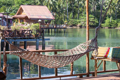 Wonderful place for relaxation in island Koh Chang ,Thailand Royalty Free Stock Image