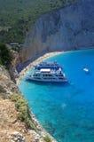 Wonderful Porto Katsiki beach view,Greece Stock Photos