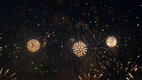 Firework festival show stock video footage