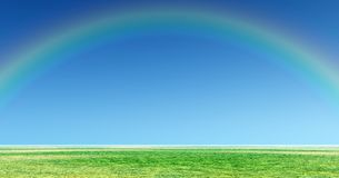 Wonderful rainbow Royalty Free Stock Photo