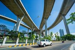 Wonderful Rama nine bridge Stock Photography