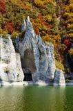 The Wonderful Rocks. Of Tsonevo dam in Bulgaria, fall time Stock Images