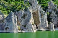 The Wonderful Rocks. Of Tsonevo dam in Bulgaria Stock Image