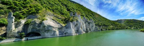The Wonderful Rocks. Of Tsonevo dam in Bulgaria royalty free stock photography