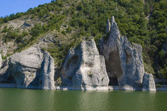 The Wonderful Rocks. Rock formation in Bulgaria Royalty Free Stock Image