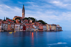 Wonderful romantic old town of Rovinj Royalty Free Stock Images