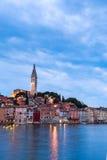 Wonderful romantic old town of Rovinj Stock Photos