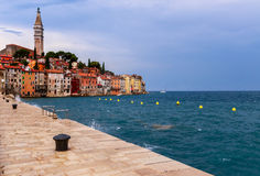 Wonderful romantic old town of Rovinj Royalty Free Stock Image