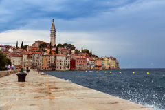 Wonderful romantic old town of Rovinj Stock Images