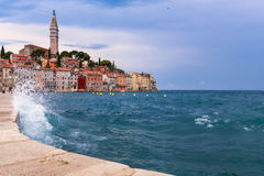 Wonderful romantic old town of Rovinj Royalty Free Stock Photography