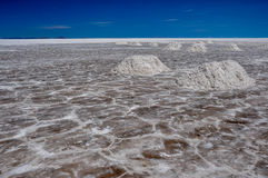 Wonderful Salar de Uyuni, Bolivia Royalty Free Stock Image