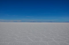 Wonderful Salar de Uyuni, Bolivia Stock Images
