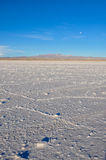 Wonderful Salar de Uyuni, Bolivia Royalty Free Stock Photography