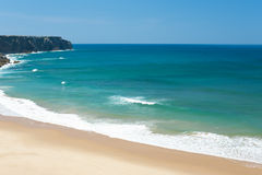 Wonderful sandy beach Royalty Free Stock Image