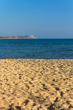 Wonderful sandy beach of Protaras on Cyprus island Stock Photos
