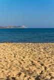 Wonderful sandy beach of Protaras on Cyprus island Stock Photos