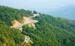 Free Wonderful Scene, Ngoan Muc Mountain Pass Stock Image - 44970641