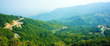 Wonderful scene, Ngoan Muc mountain pass Stock Photos