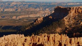 Wonderful Scenery at Bryce Canyon National Park in Utah. USA 2017 stock footage