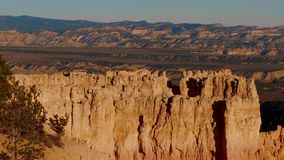 Wonderful Scenery at Bryce Canyon National Park in Utah. USA 2017 stock video footage