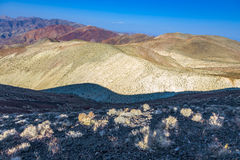 Wonderful scenic point Dantes view in the mountains of Death val stock images