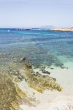 Wonderful sea a Favignana. Cala rotonda - Sicily, Italy Stock Images