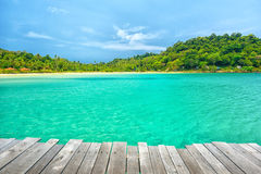 Wonderful sea view at Koh Kood Island Stock Photography