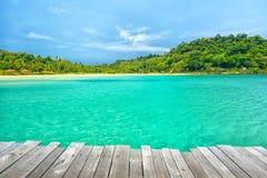Wonderful sea view at Koh Kood Island Stock Photography