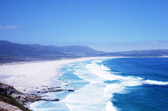 Wonderful seascape with Noordhoek Beach, South Africa Stock Image