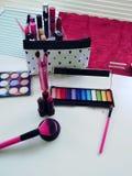 Wonderful set of make up stock photos