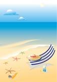 Wonderful shining beach Royalty Free Stock Image