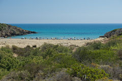Wonderful Sicilia sandy Beach Royalty Free Stock Photos