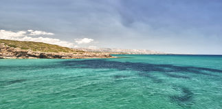 Wonderful Sicilia sandy Beach Royalty Free Stock Images