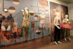 Wonderful sight of dancing costumes through history,National Museum of Dance and Hall of Fame,New York,2015 Stock Photo