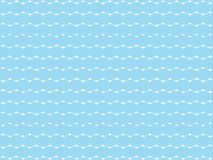 A wonderful simple blue background design with white elements stock illustration