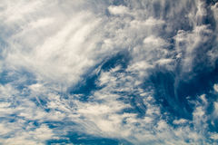 Wonderful sky. Clouds on a summer sky Stock Image