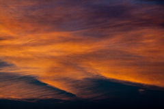 Wonderful sky. Clouds on a summer sky Stock Photo