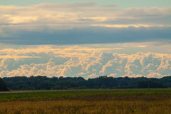 Wonderful sky. Clouds on a summer sky Royalty Free Stock Photography