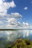 Wonderful Sky and reflection upon water royalty free stock images