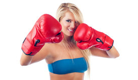 Wonderful sport women Stock Images