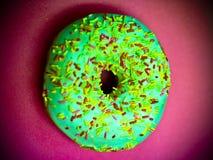 Wonderful Sprinkle Doughnut Royalty Free Stock Photos