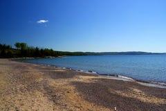 Wonderful summer day: Beautiful lake in Ontario.  royalty free stock photos