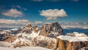 Wonderful summit of Sass Pordoi, Dolomites, Italy. Europe Stock Photos