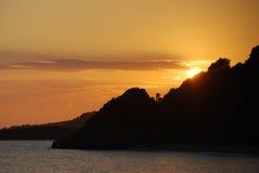 Wonderful sunset Stock Photos