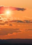 Wonderful sunset 4 Stock Image