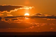 Wonderful sunset Stock Photo