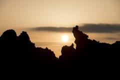 Wonderful Sunset on ETNA Volcano Royalty Free Stock Images